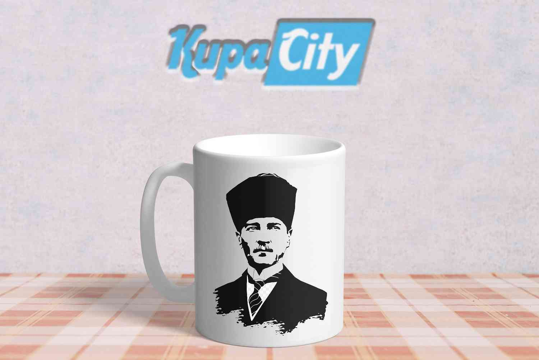 Atatürk Resimli Kupa Bardak